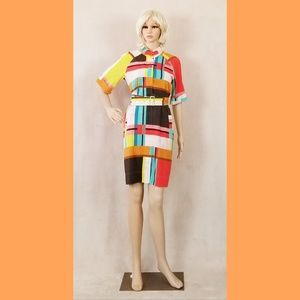 Donna Morgan color block dress